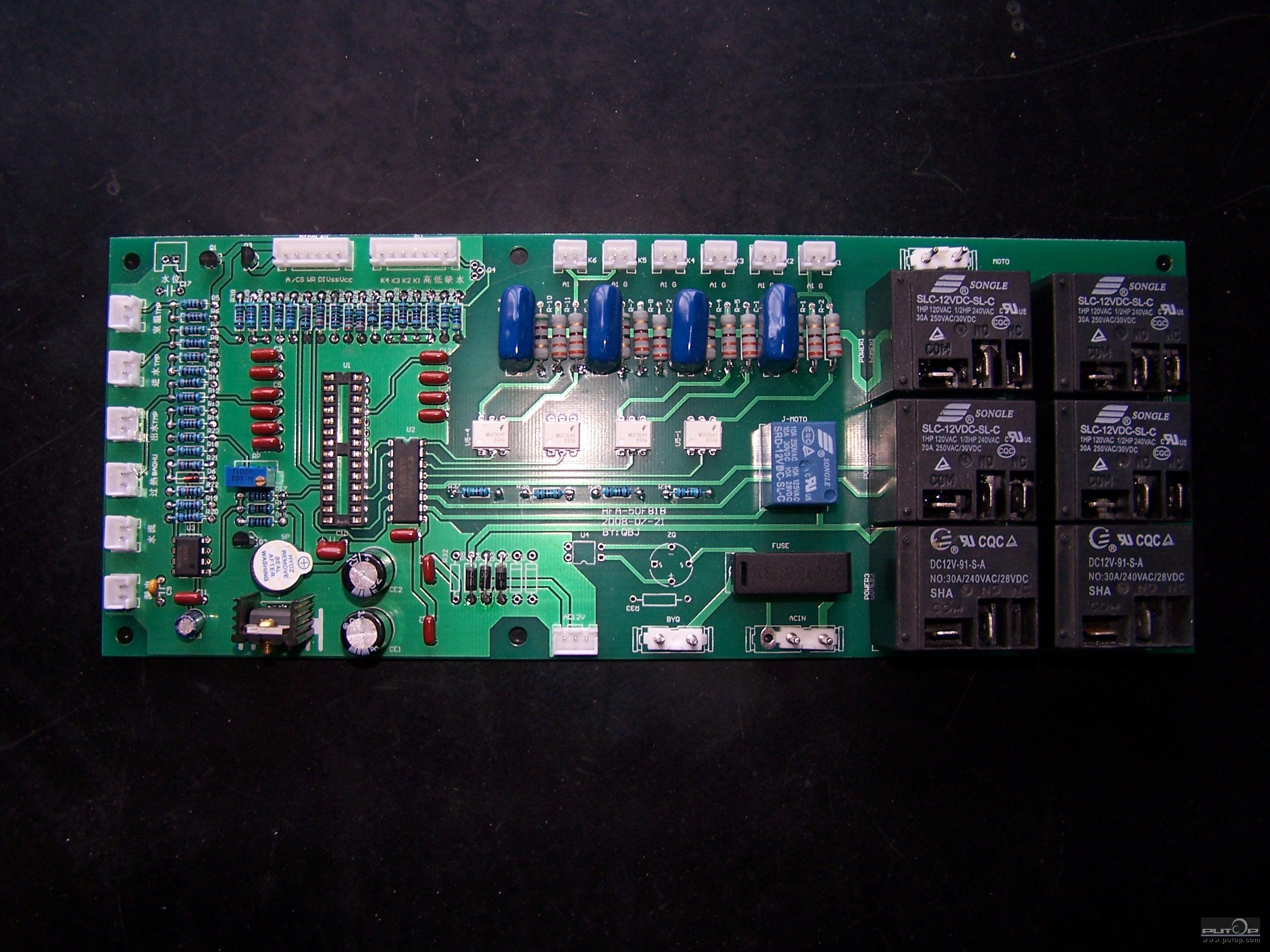 大功率采暖器智能控制电路